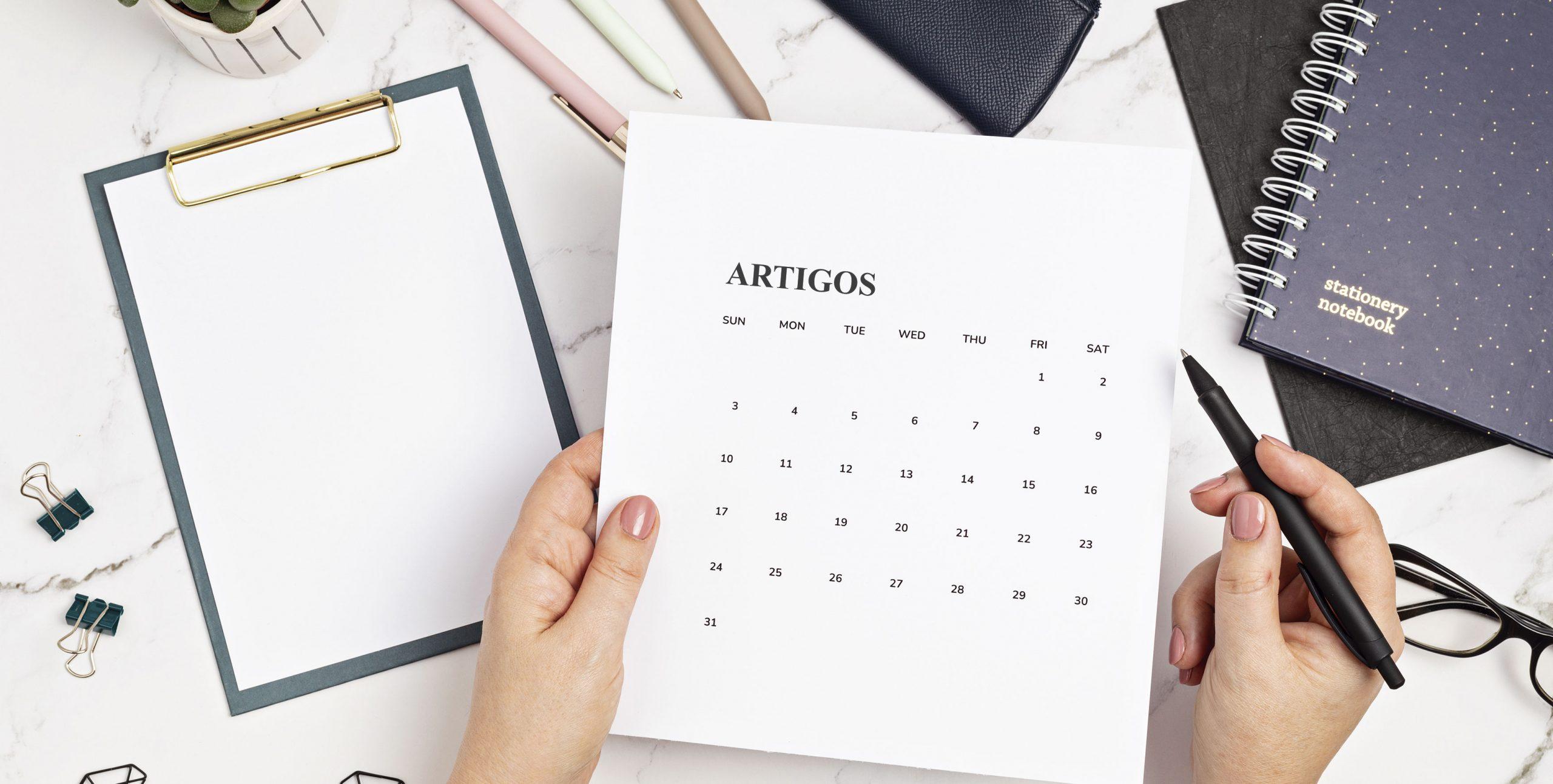 Artigos Março